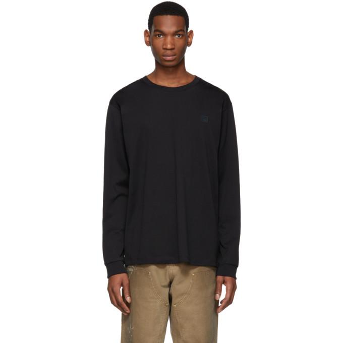 191129m213030 À Face Manches Elwood Sku Acne Longues shirt Noir StudiosT 8wkn0PXO