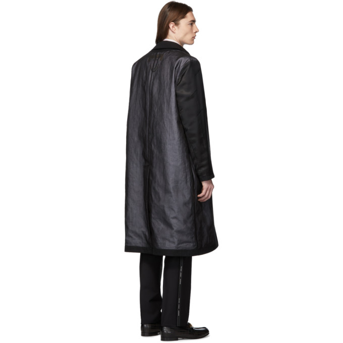 Double 191376m176014 Noir Layered BurberryTrench Sku Yyvbgf76