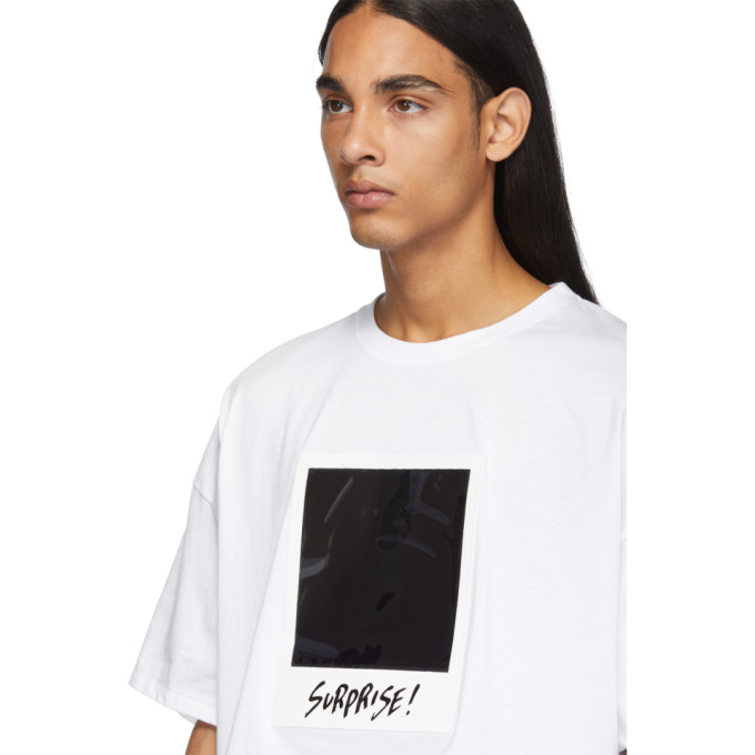 DoubletT Blanc Sku Polaroid Film shirt 192038m213001 DH2IWE9Ye