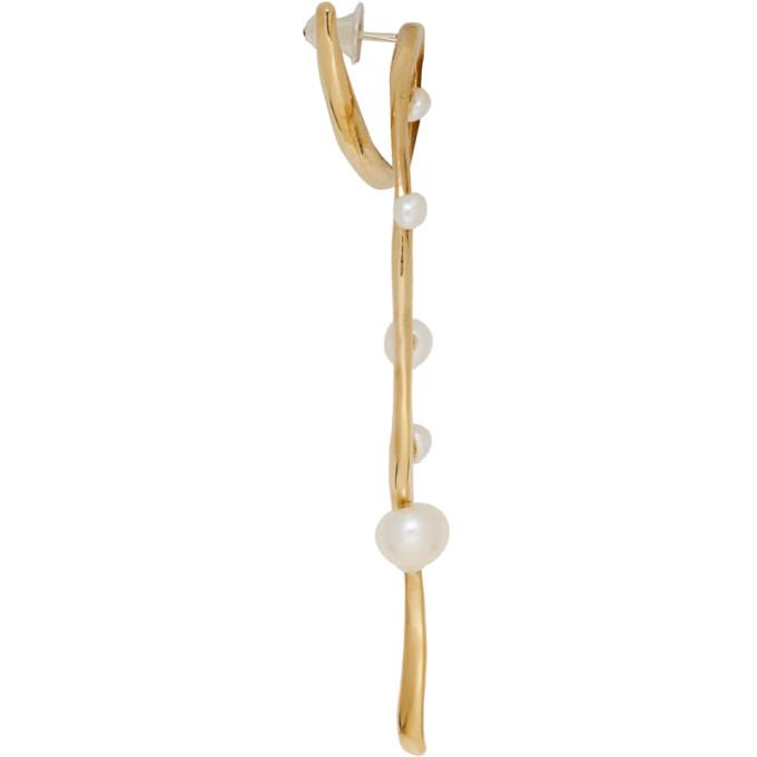 FarisBoucles D'oreilles Esther 192069f022004 Sku Perlées Bronze DHIE29