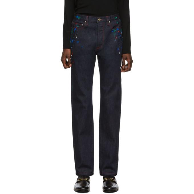 Regular Sku 192260m186004 Painted Fit SmithJean Paul Bleu MVpSUz