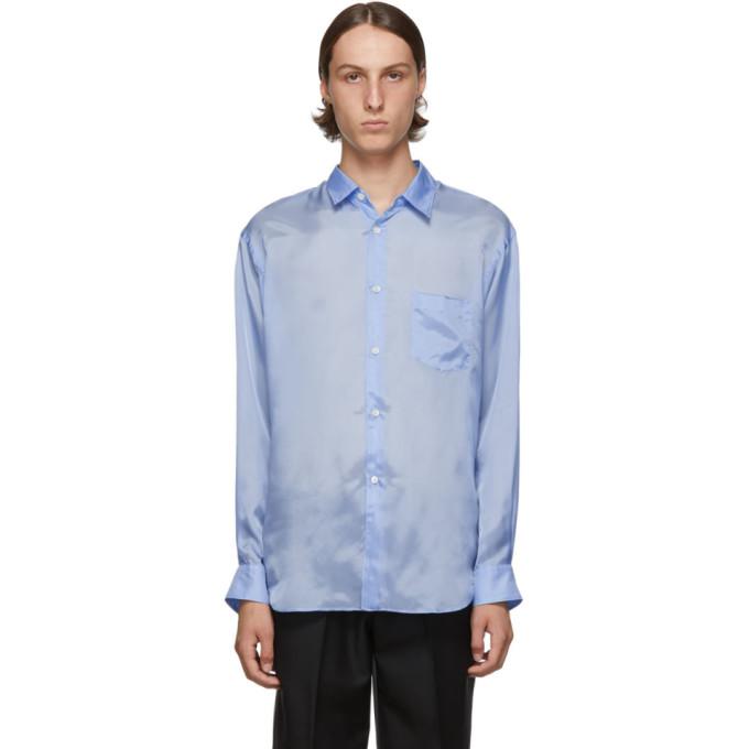 Garçons Des Taffetas Bleue Sku Comme ShirtChemise 192270m192025 En kilXZwOPuT