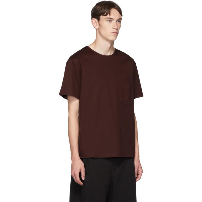 LemaireT Sku Mercerisé Brun 192646m213008 shirt rdoxeWCB